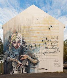 Herakut street art