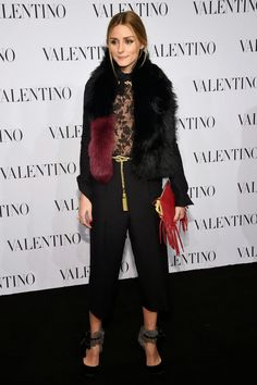 The Olivia Palermo Lookbook : Olivia Palermo at Valentino Haute Couture Show