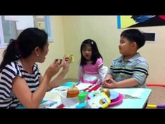 English for All Children (EFAC) class is designed for children aged 5 - 10 years. By Teacher Tonie at Helen Doron English - Central Plaza Ladprao branch on S. Helen Doron, Kids English, Teacher, Children, Hampers, Young Children, Professor, Boys