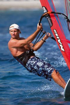 Windsurf legend Robby Naish will be joining us today on location to offer some sage advice to another pro water rat, Chuck Patterson.