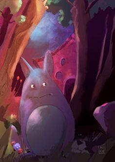 Homenaje Totoro - Animación | Dibujando.net