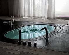 I think this fancy bathtub would be nice.