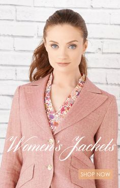 Womens Jackets - Shop now at Magee1866  #Style #Fashion #Jacket #Magee #Magee1866 #mageeclothing #summerlook #floral #pink #clothing #womenswear #tweed #print #summer