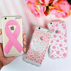 """Entramos de cabeça no """"Outubro Rosa"""" e ao lado da ONG Pense Rosa que há 17 está no combate do câncer de mama criamos essa coleção que terá 20% do valor arrecadado com a venda destinado ao projeto. (não é o máximo?! ) Tudo isso pensando em ajudar todas as mulheres a se cuidarem! Quer entrar nessa com a gente?  Então corre lá no site que elas já estão disponíveis!  {cases: laço rosa pense rosa e rosas de outubro} [PARA IPHONES GALAXY E MOTO G]  #compartilheorosa #outubrorosa #penserosa…"""