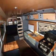 Adorable Wood Interior Ideas For Sprinter Van Camper, Volkswagen campers stick out from the crowd. A Sprinter van camper is readily the most flexible type of Sprinter RV. Our very last RV had one small ba. Bus Camper, Camper Life, Campers, Mercedes Sprinter Camper, Sprinter Rv, Sprinter Van Conversion, Camper Conversion, Minivan, Camping Car Van