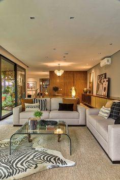 Home Deco, Villa Design, House Design, Outdoor Patio Shades, Deco Studio, Open Plan Kitchen Living Room, Home Building Design, First Apartment Decorating, Dream Apartment