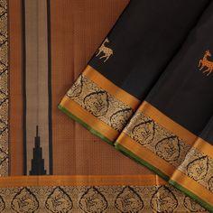 Kanakavalli Kanjivaram Silk Sari 072-01-31669 - Cover View