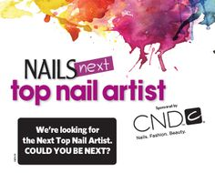Enter to be the NAILS Magazine Next Top Nail Artist, 2014! http://www.nailsmag.com/nexttopnailartistapplication/96170/nails-next-top-nail-artist-introduction