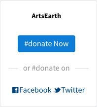 TODAY: #donate to @ArtsEarthOrg   #Twitter  Help #fund our new #ArtsEarth #website with more featured #arts #events #worldwide, near you with #dance #film #literature #music #theatre #visual #multimedia #creativity in 2017!  #DonateNow: http://ArtsEarth.org/donate/  ArtsEarth is a 501(c)3 nonprofit headquartered in the San Francisco Bay Area to promote the arts worldwide.  #Facebook #Goodworld #Google #Instagram #LinkedIn #Tumblr