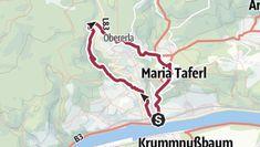Leichte Kurztour durch die Steinbachklamm und über Höhenrücken mit schöner Aussicht. Map, Tours, Nice Asses, Location Map, Maps