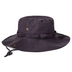c9085d73a1e Mens Boonie Bucket Hat Cap Cotton Fishing Hunting Safari Summer Military  NAVY