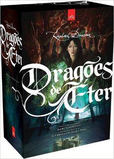 Trilogia Dragões de Éter - Raphael Draccon - Minha última leitura, indicação da Drª Lia Duarte, muito bom! E o autor...brasileiro. Uhuuuuu