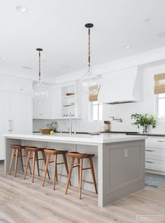 7 Times a Colorful Kitchen Island Made the Room   Apartment Therapy