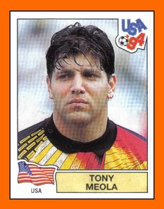 TONY MEOLA (USA - 1994) World Cup 94, Fifa World Cup, Football Stickers, Soccer, Baseball Cards, Legends, Usa, People, Soccer Guys