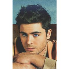 (51) zach efron | Tumblr via Polyvore