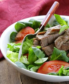 HCG Phase 2 Teriyaki Beef Salad