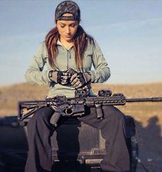 Women: the fastest growing segment of gun buyers/enthusiasts!