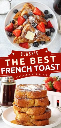 Too tired to prepare for your Christmas brunch? Try this Classic French Toast recipe! It's perfect for lazy and cold mornings with the family. Pin this holiday baking recipe today!