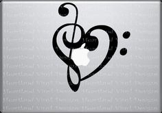 This would be a beautiful Tattoo. I could extend the neck of the treble and add a dash to make it a cross. :)