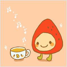ichigotchi & coffee :)