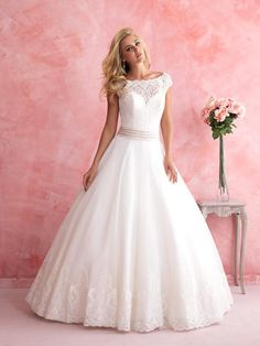 Romance Bridal by Allure - Party Dress Express | 657 Quarry Street | Fall River, MA | or online at www.PartyDressExpress.com