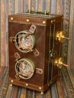 Captivating Original Steampunk Auto-Lantern by CuriosityShopper