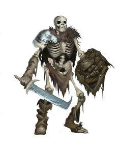 Orc Skeleton - Eric Quigley
