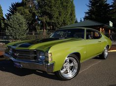 AutoTrader Classics - 1971 Chevrolet Chevelle Coupe 8 Cylinder Automatic 2 wheel drive | Muscle & Pony Cars | Eugene, OR