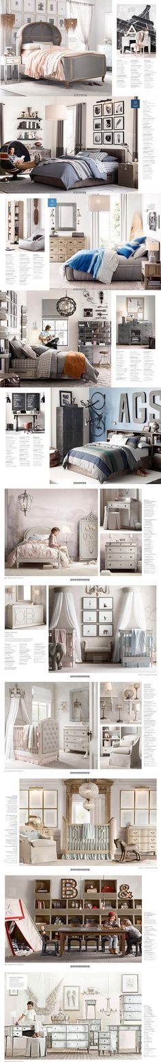 a352国外超美高端奢华儿童房婴儿房家居家具配饰软装设计素材资料-淘宝网全球站