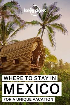 Heading to Mexico for some sun? Here are the best hotels, airbnbs and hostels in Mexico that you need to check out. This list of places is the ultimate list of where to stay in Mexico. Best Honeymoon, Honeymoon Destinations, Travel Around The World, Around The Worlds, Unusual Hotels, Unique Vacations, Winter Sun, Beach Holiday, Walking In Nature