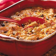 Pork and Green Chili Casserole - This zippy casserole is one that was brought to a picnic at my house. People raved over it.