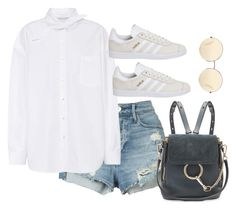 """""""Untitled #3831"""" by theaverageauburn on Polyvore featuring 3x1, Balenciaga, adidas, Chloé and Victoria Beckham"""