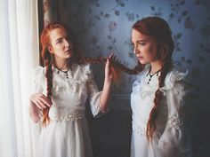 Doppelgänger • 2/18 Photographer : Julie de Waroquier Models : Sirithil & River