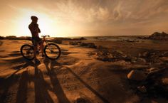 Sunrise and sunset, ride has not limits.