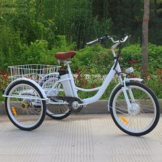 506ee98d7f5 6 speed adult tricycle | jxcycle Trike Bicycle, Adult Tricycle, Aluminum  Wheels, Cycle