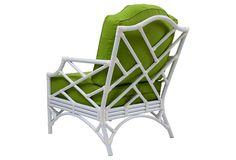 "DAVID FRANCIS   Chippendale Lounge Chair   27.5""w x 35""d x 37""h x 17"" seat ht.   1,960.00 retail"