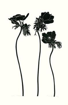 Henry Evans Botanical Prints Vol 13 & 34 1975 Botanical Drawings, Botanical Illustration, Botanical Prints, Illustration Art, Motif Art Deco, Art Nouveau Design, Neo Traditional Tattoo, Traditional Art, Flower Patterns