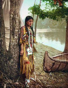 15 photos couleurs rares des Indiens damérique du 19eme et 20eme siecle…