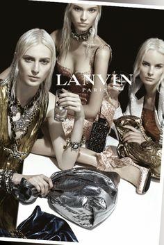 Lanvin SS 2014 Campaign by Steven Meisel