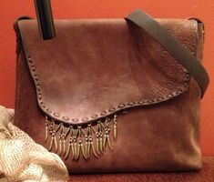 Anat Gelbard- handmade leather bag