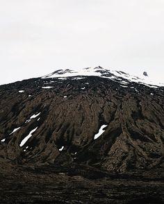Slept at the base of this bad boy last night.  #iceland #volcano #travelbug