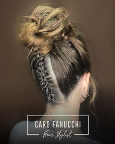 Updo, Scrunchies, Dreadlocks, Instagram, Hair Styles, Cute, Beauty, Receptions, Mariage