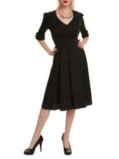 Hell Bunny Black June Dress
