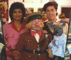 """""""Today's Special"""" .. With Jodie, Jeff the mannequin, Sam the night guard, and Muffy the mouse."""