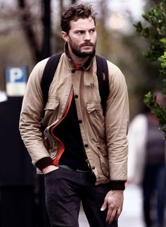 Jamie Dornan steps out in London - 24 Nov 2015 Fifty Shades Movie, Fifty Shades Of Grey, 50 Shades, Jamie Dornan, Anastasia Grey, London Today, Mr Grey, Irish Men, Christian Grey