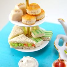 Hey, I found this really awesome Etsy listing at https://www.etsy.com/listing/218335212/miniatures-tea-party-sandwiches-set-112