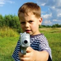 """Bang Bang: Weapons Play and Young Children.  """"We are so afraid of aggression in this society that we haven't been able to talk intelligently about it."""""""