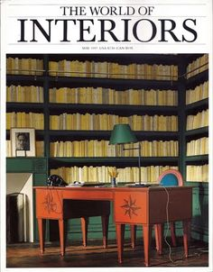 World of Interiors. May 1997. For sale on ebay.  http://www.ebay.co.uk/itm/161198671832?ssPageName=STRK:MESELX:IT&_trksid=p3984.m1555.l2649