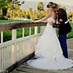 Vestidos de novia boda militar