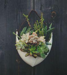 Оригинальные керамические горшки ручной работы для домашних растений